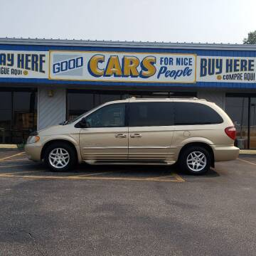 2001 Chrysler Town and Country for sale at Good Cars 4 Nice People in Omaha NE