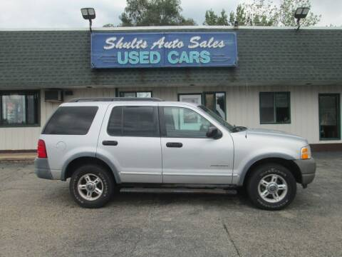 2002 Ford Explorer for sale at SHULTS AUTO SALES INC. in Crystal Lake IL