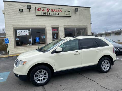 2007 Ford Edge for sale at C & S SALES in Belton MO