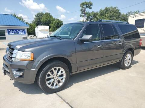 2015 Ford Expedition EL for sale at Kell Auto Sales, Inc in Wichita Falls TX