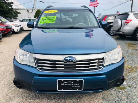2010 Subaru Forester for sale at Cape Cod Cars & Trucks in Hyannis MA