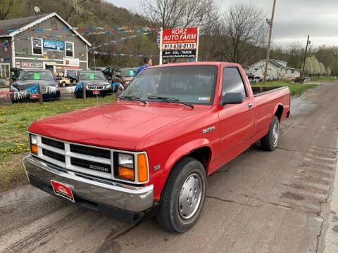 1988 Dodge Dakota for sale at Korz Auto Farm in Kansas City KS
