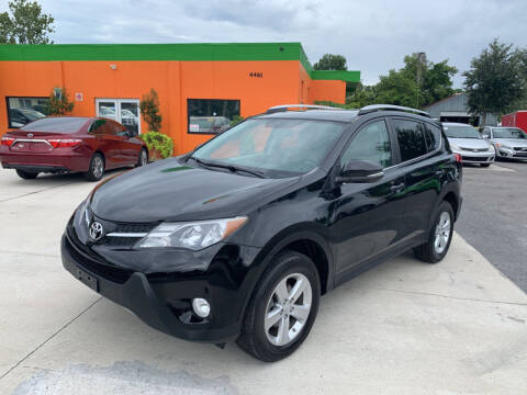 2013 Toyota RAV4 for sale at Galaxy Auto Service, Inc. in Orlando FL