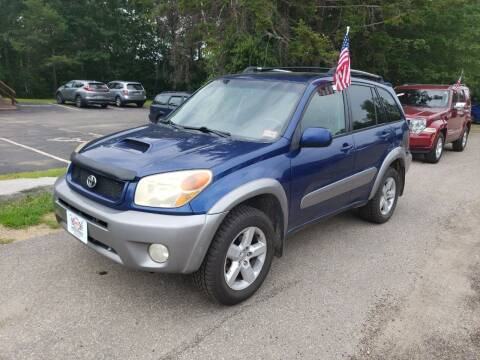 2005 Toyota RAV4 for sale at Winner's Circle Auto Sales in Tilton NH