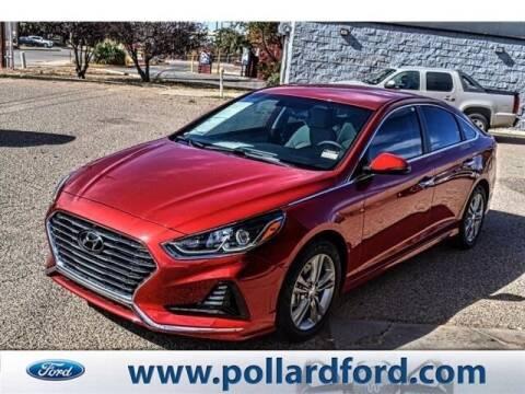 2018 Hyundai Sonata for sale at South Plains Autoplex by RANDY BUCHANAN in Lubbock TX