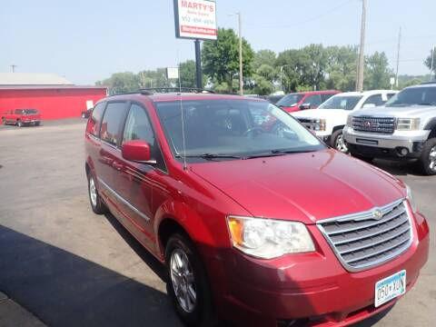 2010 Chrysler Town and Country for sale at Marty's Auto Sales in Savage MN