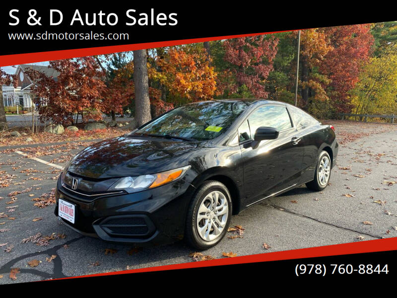 2015 Honda Civic for sale at S & D Auto Sales in Maynard MA
