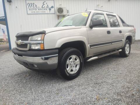 2005 Chevrolet Avalanche for sale at Mr E's Auto Sales in Lima OH