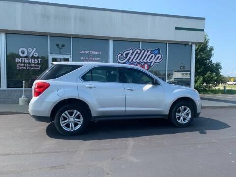 2010 Chevrolet Equinox for sale at Hilltop Auto in Clare MI