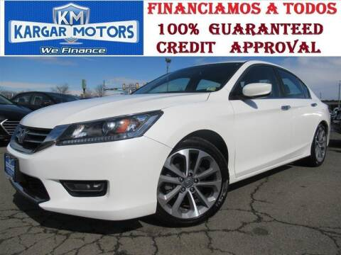 2014 Honda Accord for sale at Kargar Motors of Manassas in Manassas VA