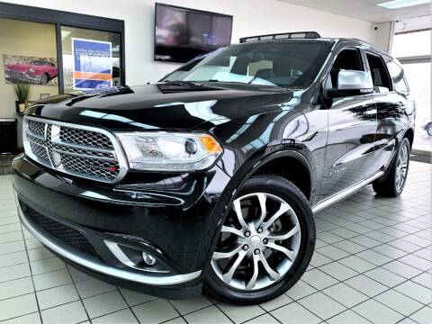2017 Dodge Durango for sale at SAINT CHARLES MOTORCARS in Saint Charles IL