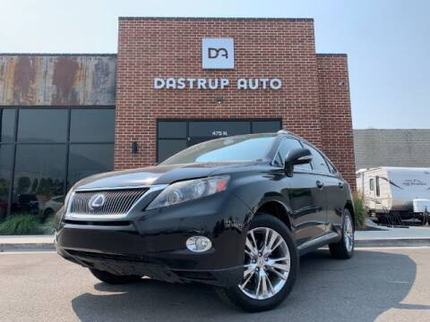 2011 Lexus RX 450h for sale at Dastrup Auto in Lindon UT