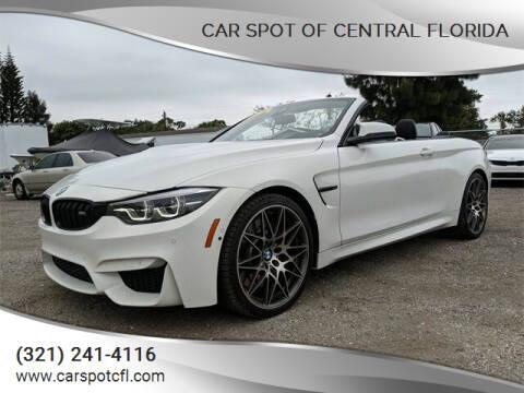 2018 BMW M4 for sale at Car Spot Of Central Florida in Melbourne FL
