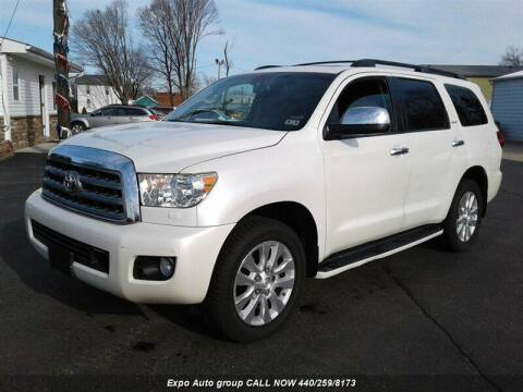 2013 Toyota Sequoia for sale at EXPO AUTO GROUP in Perry OH