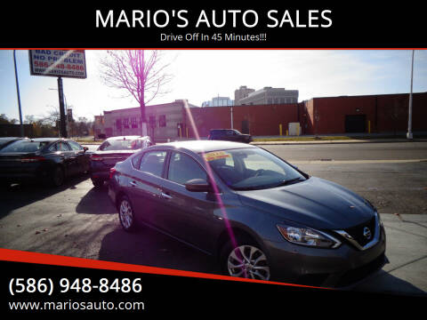 2018 Nissan Sentra for sale at MARIO'S AUTO SALES in Mount Clemens MI
