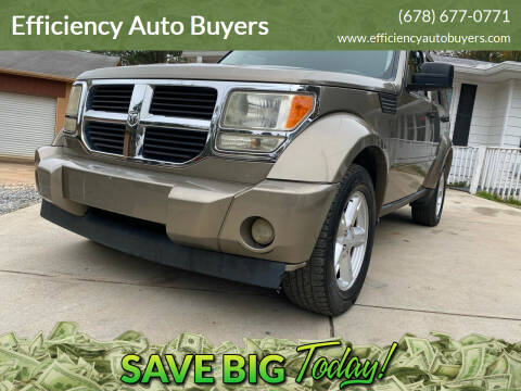2007 Dodge Nitro for sale at Efficiency Auto Buyers in Milton GA