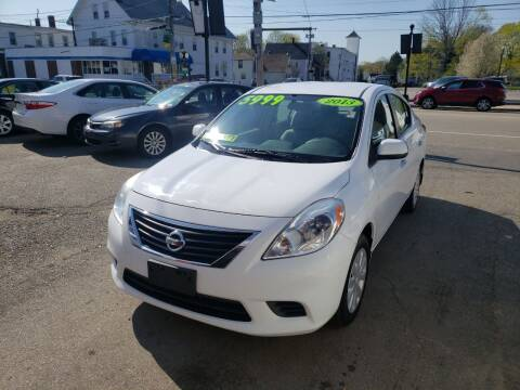 2013 Nissan Versa for sale at TC Auto Repair and Sales Inc in Abington MA