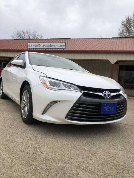 2015 Toyota Camry for sale at PITTMAN MOTOR CO in Lindale TX