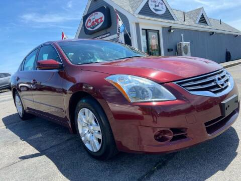 2012 Nissan Altima for sale at Cape Cod Carz in Hyannis MA