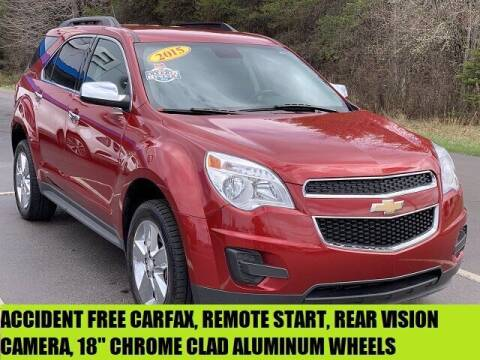 2015 Chevrolet Equinox for sale at Urka Auto Center in Ludington MI