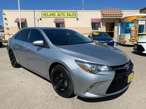 2016 Toyota Camry for sale at HEILAND AUTO SALES in Oceano CA