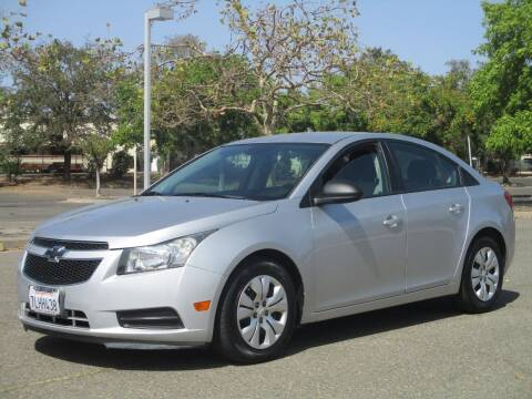 2013 Chevrolet Cruze for sale at General Auto Sales Corp in Sacramento CA