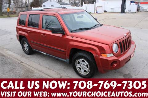 2010 Jeep Patriot for sale at Your Choice Autos in Posen IL
