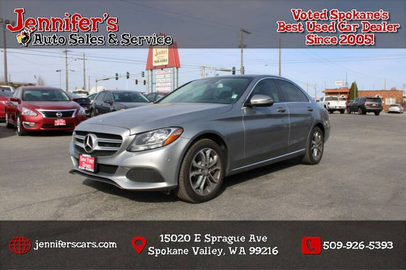 2016 Mercedes-Benz C-Class for sale at Jennifer's Auto Sales in Spokane Valley WA