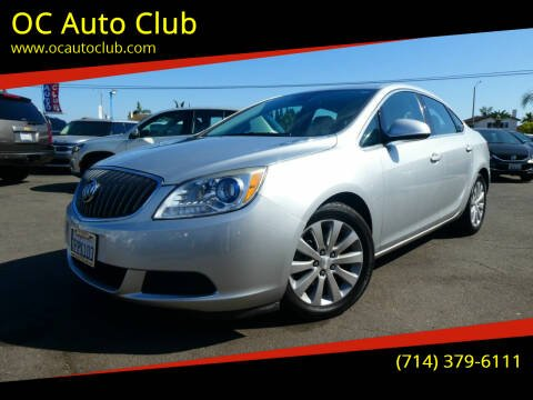 2016 Buick Verano for sale at OC Auto Club in Midway City CA