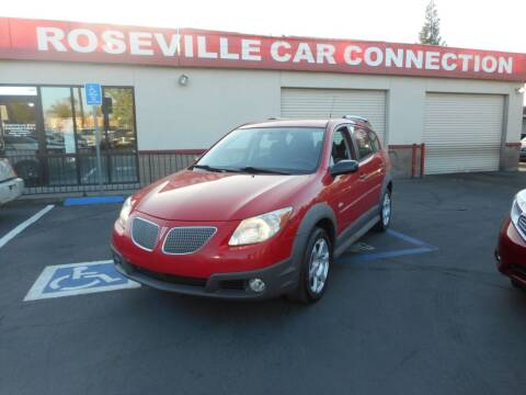 2006 Pontiac Vibe for sale at ROSEVILLE CAR CONNECTION in Roseville CA