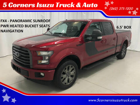 2017 Ford F-150 for sale at 5 Corners Isuzu Truck & Auto in Cedarburg WI