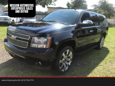 2008 Chevrolet Suburban for sale at MISSION AUTOMOTIVE ENTERPRISES in Plant City FL