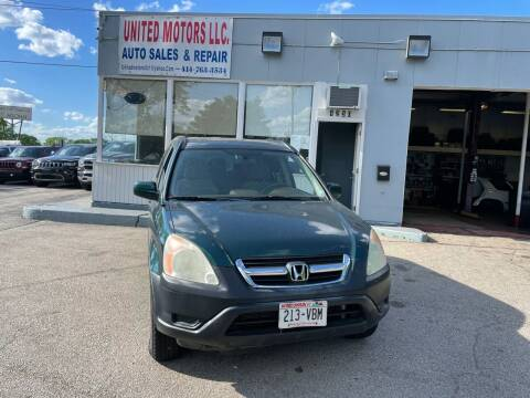 2004 Honda CR-V for sale at United Motors LLC in Saint Francis WI
