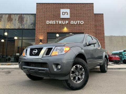 2017 Nissan Frontier for sale at Dastrup Auto in Lindon UT