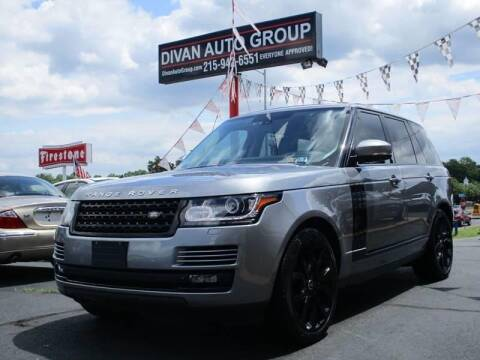 2013 Land Rover Range Rover for sale at Divan Auto Group in Feasterville PA
