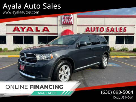 2013 Dodge Durango for sale at Ayala Auto Sales in Aurora IL