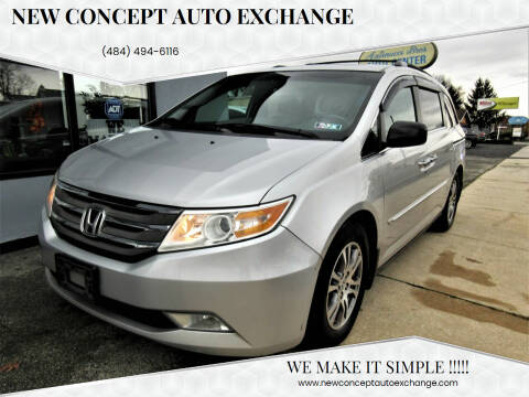 2012 Honda Odyssey for sale at New Concept Auto Exchange in Glenolden PA