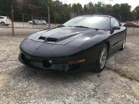 1996 Pontiac Firebird for sale at Certified Motors LLC in Mableton GA