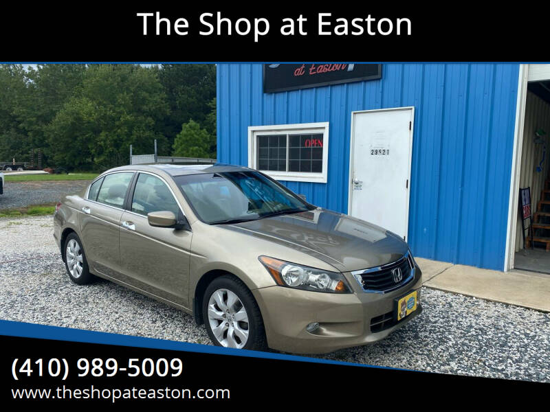 2009 Honda Accord for sale at The Shop at Easton in Easton MD