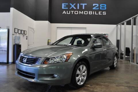 2008 Honda Accord for sale at Exit 28 Auto Center LLC in Cornelius NC