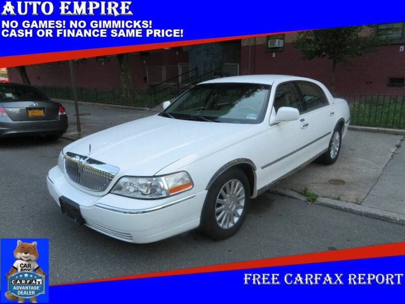2003 Lincoln Town Car for sale at Auto Empire in Brooklyn NY