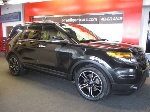 2014 Ford Explorer for sale at Prestige Motorcars in Warwick RI