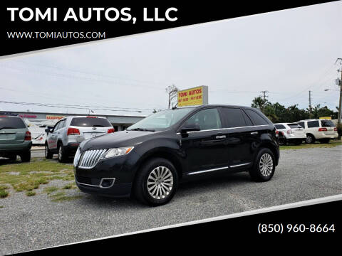 2013 Lincoln MKX for sale at TOMI AUTOS, LLC in Panama City FL