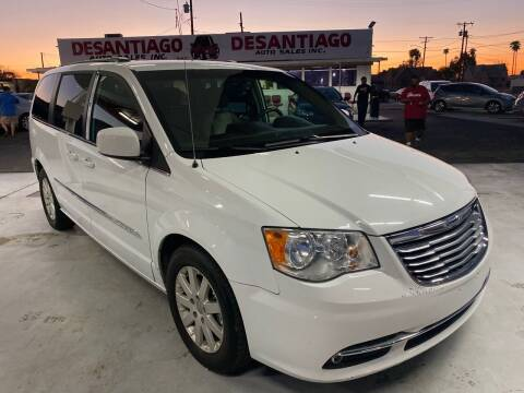 2016 Chrysler Town and Country for sale at DESANTIAGO AUTO SALES in Yuma AZ