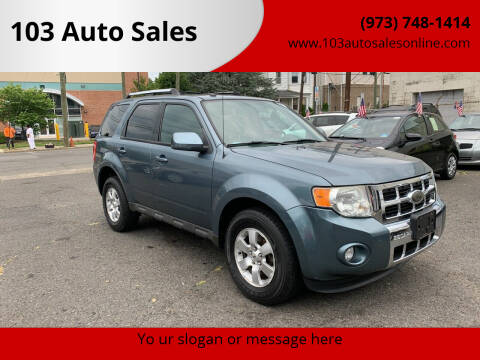 2010 Ford Escape for sale at 103 Auto Sales in Bloomfield NJ
