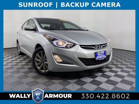 2015 Hyundai Elantra for sale at Wally Armour Chrysler Dodge Jeep Ram in Alliance OH