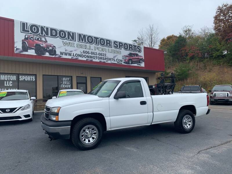 2006 Chevrolet Silverado 1500 for sale at London Motor Sports, LLC in London KY