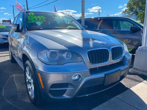 2011 BMW X5 for sale at GRAND USED CARS  INC in Little Ferry NJ