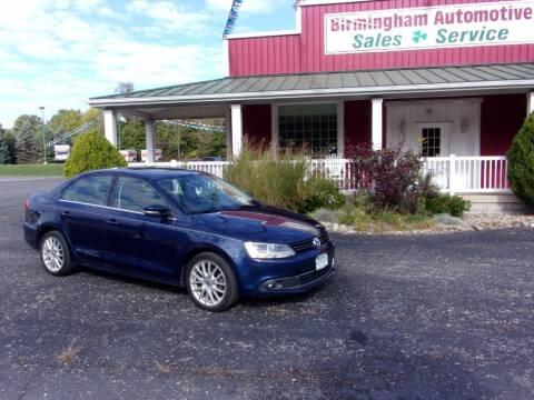 2011 Volkswagen Jetta for sale at Birmingham Automotive in Birmingham OH