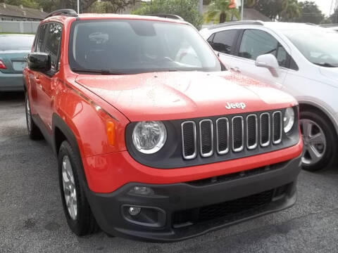 2016 Jeep Renegade for sale at PJ's Auto World Inc in Clearwater FL